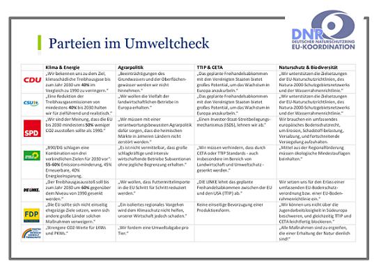 PDF Vorschau Parteien im Umweltcheck